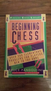 Beginning Chess by Bruce Pandolfini