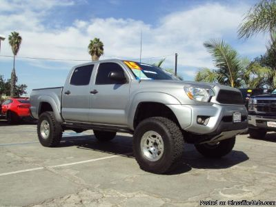 2015 *TOYOTA* *TACOMA* *PRERUNNER* TRD $0 DOWN! CALL FOR PRICE!