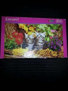 Two of a Kind 500 pc. Kitten Puzzle