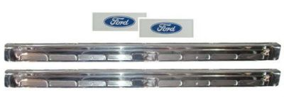 Purchase New Door Sill Scuff Plate Set 1964-68 Mustang Coupe & Fastback motorcycle in Oklahoma City, Oklahoma, United States, for US $39.00