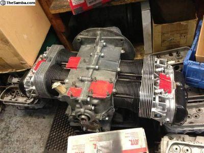 Rebuilt 1600 dual port engine Bug Bus Ghia