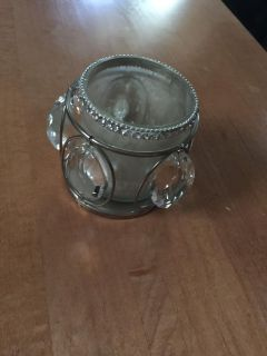 Georgeus glittery candle holder