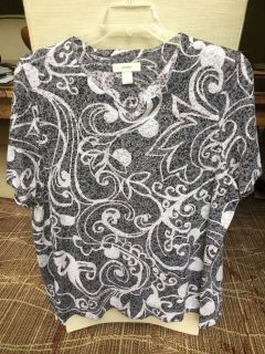 Christopher Banks knit top. Size 2X