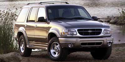 2000 Ford Explorer XLT (Toreador Red Metallic)