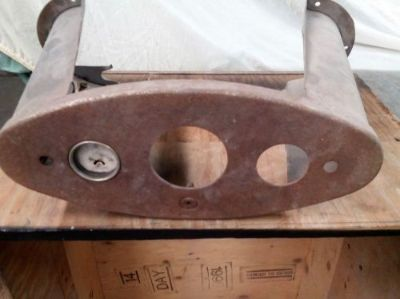 Purchase 1932 FORD ORIGINAL HENRY FORD STEEL RAT ROD INSTRUMENT PANEL motorcycle in Wyoming, Minnesota, United States
