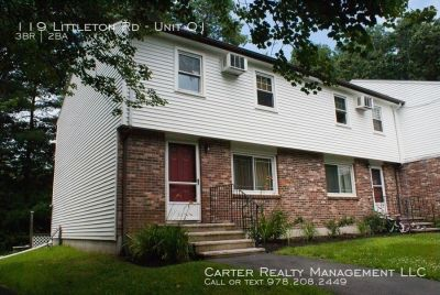 QUALITY 3 bedroom TOWNHOUSE! ONLY $1795 AYER No smoking, no pets