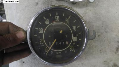 69 late beetle speedometer speedo