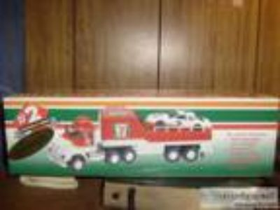 LIMITED ADDITION (SERIALIZED) RACE CAR CARRIER # collector s Se