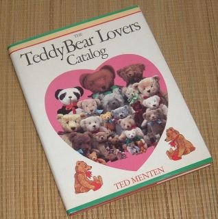 Vintage 1985 The Teddy Bear Lovers Catalog Hard Cover Book A Treasury of Bearfaced Pleasure