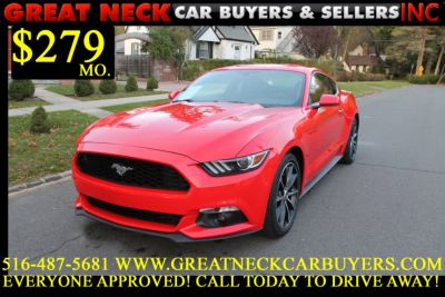 2016 Ford Mustang 2dr Fastback EcoBoost (Race Red)