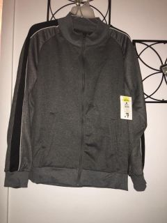 Men s Light Weight Fleece Lined Jacket Size Large New With Tags