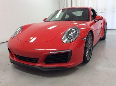 2017 Porsche 911 Carrera S (Guards Red)