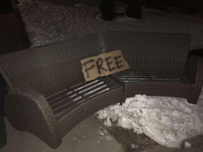 Outdoor couch FREE
