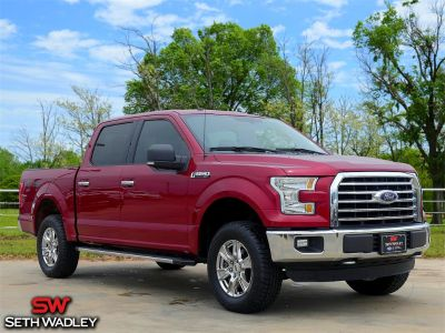 2016 Ford F-150 (Ruby Red Metallic Tinted Clearcoat)