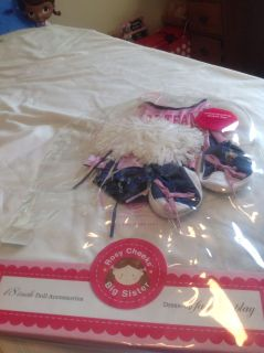 NIPfor 18 nah dolls. Cheerleading outfit. 6 pieces
