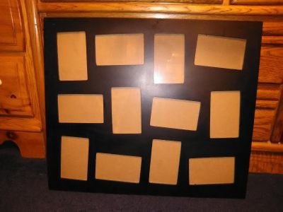 12 5x7 photo picture frame
