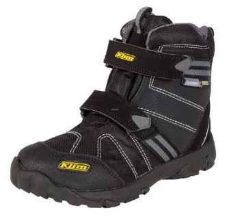 Buy 2017 KLIM Youth Klimate Boots - Black motorcycle in Sauk Centre, Minnesota, United States, for US $99.99