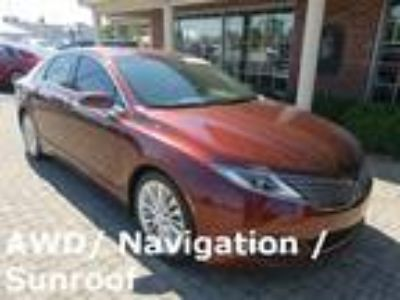 2015 Lincoln MKZ AWD w Sunroof & Nav