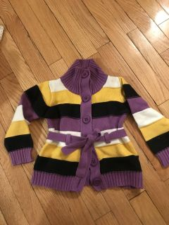 Cotton sweater size 4T
