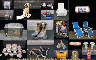 Online Auction: Richardson Estate, Coins & Tools