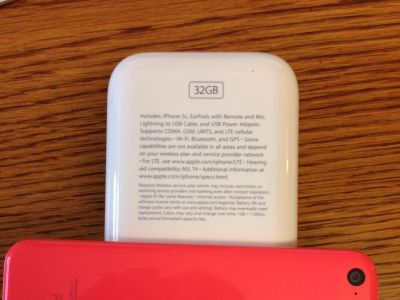 IPhone 5c Verizon 32gb - Like New Condition