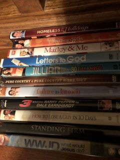 11 movies $2 each or all for $20