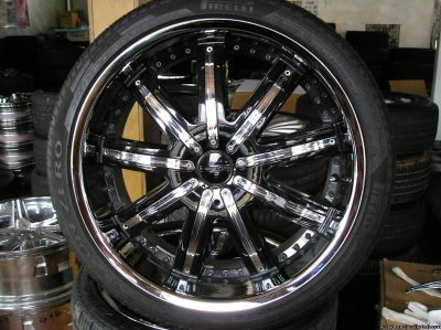 4 22 inch fusion wheels and tires atlanta (with shipping availabl