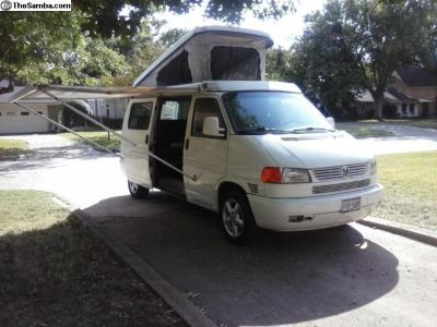 2001 Eurovan Camper 20K since reconditioned