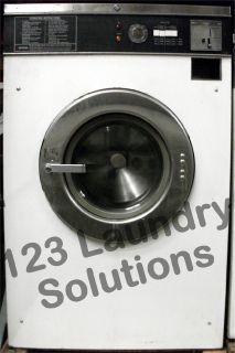 Good Condition Maytag Front Load Washer 18lbs 120v White AT18MC1 Used