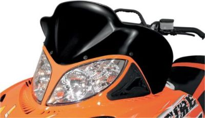 """Buy POWERMADD/COBRA 12823 WINDSHIELD 17"""" BLK ARC motorcycle in Plymouth, Michigan, United States, for US $87.35"""