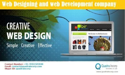 Web Marketing and Web design company - Quadra Incorp