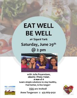 Free wellness event