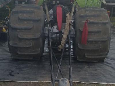 Strange Aluminum Rear End 40 spline w/Brakes no ctr section