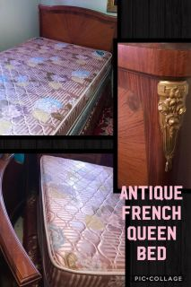Antique Queen Size French Bed $165 or Best Offer