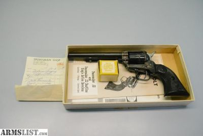 For Sale: Colt Peacemaker