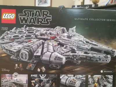 Huge! New, Unopened Lego Star Wars Millennium Falcon 75192 Over 7,000 pieces