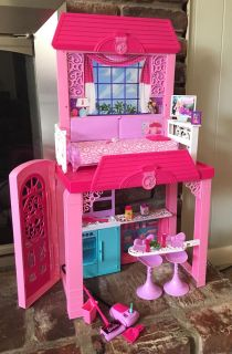 Barbie Pink Tastic Glam Vacation House