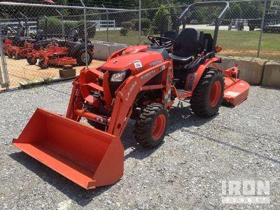2016 Kubota B2301HSD 4WD Utility Tractor