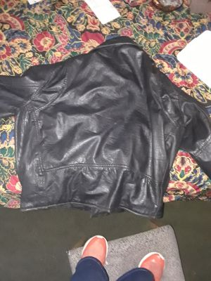 LEATHER JACKET FOR MADE BY Manzoon