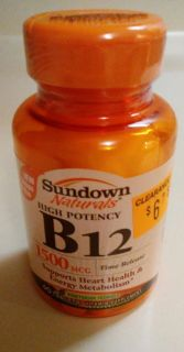 Vitamin B-12 new in package