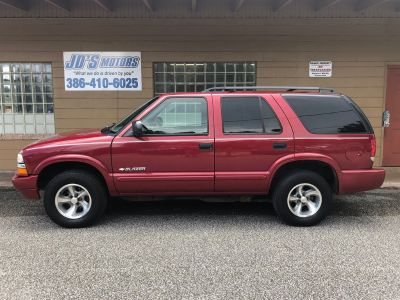 2004 Chevrolet Blazer LS (Red)