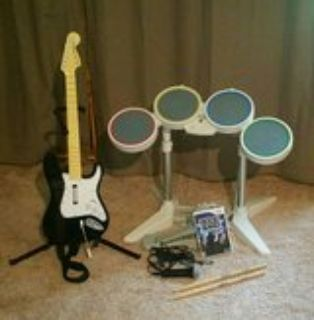 Rock Band for the Wii