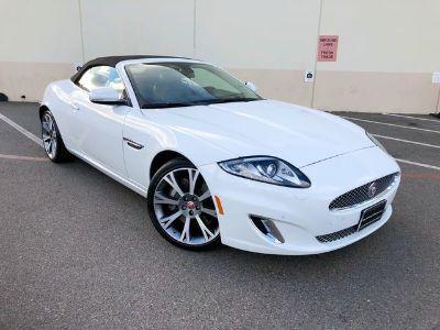 2015 Jaguar XK-Series Base (Polaris White)