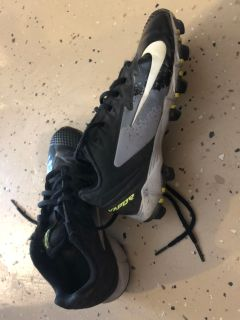 Nike vapor cleats sz 2.5