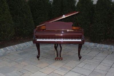 Bechstein Zimmermann Piano and chair