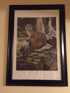 Puzzle framed picture