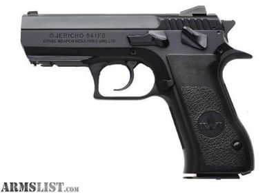 For Sale: New in box IWI Jericho 941FS 9mm