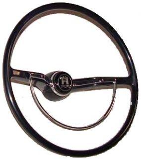Black Steering Wheel Kit for Bug, Ghia, and T-3