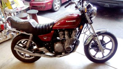 1980 KAWASAKI LTD 550 MOTORCYCLE VINTAGE