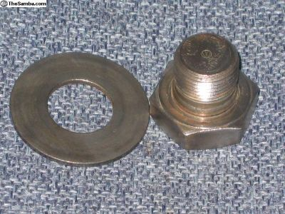 Crank Pulley Bolts-German-with Washers